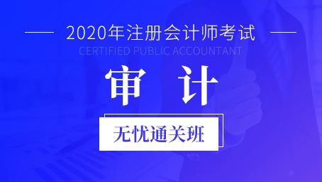 2020年注册会计师课程+题库-审计