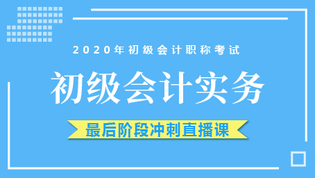 2020年初级实务最后冲刺班第七讲
